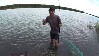 Супер рыбалка на Балхаше. Поселок Байтал.