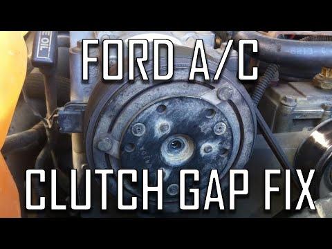 Ford How to: Fix A/C Clutch (Air Gap)