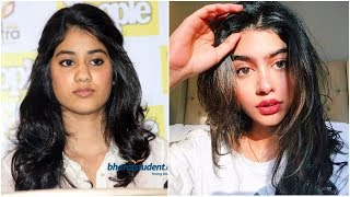 Sridevi Daughter Jhanvi Kapoor Plastic Surgery Shocking Look