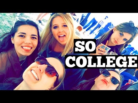 HOUSE PARTY WEEKEND AT BUCKNELL UNIVERSITY (Visiting Hadley Vlog)