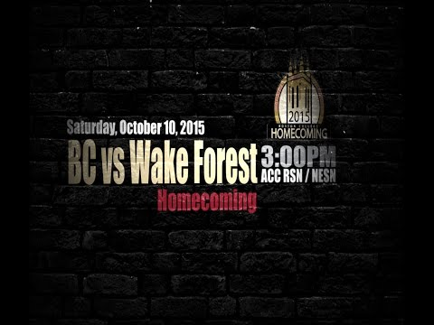 Welcome Home: BC Homecoming 2015