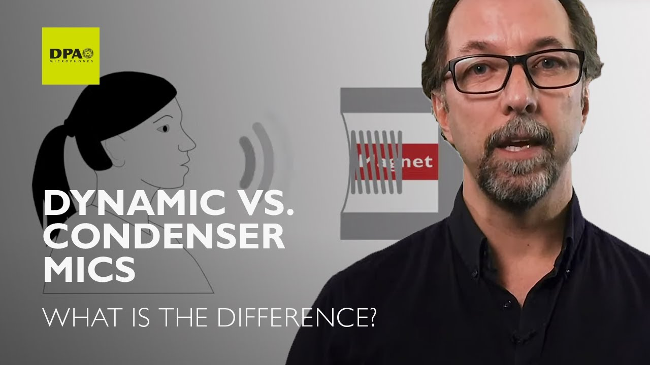 dynamic vs condenser microphones what is the difference youtube. Black Bedroom Furniture Sets. Home Design Ideas