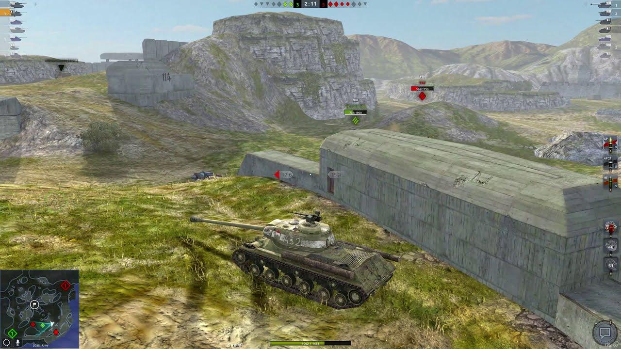 Download World of Tanks Blitz Thailand : Mastery IS2 Berlin 3916Dmg 4Kills