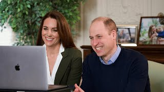video: Prince William warns social media is 'awash with rumours' as he urges vaccine take-up