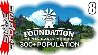 Foundation Alpha Ep 8 - HOW THE GAME REALLY WORKS! MECHANICS DEEP DIVE - 300+ Population