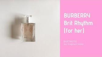 Perfume Talk Nr. 2 vom 07.08.2018: BURBERRY