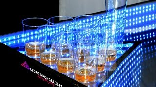 Infinity Glow - Led Beer Pong Party Table