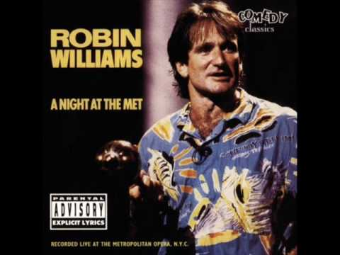 Robin Williams A Night at the Met - Alcohol