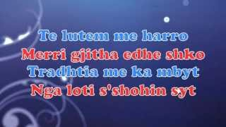 Mentor Kurtishi Ft 8KG  - Me Harro 2013 Official song Lyrics Video HD)