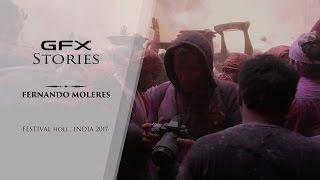 GFX stories with Fernando Moleres -Festival Holi, India 2017- / FUJIFILM