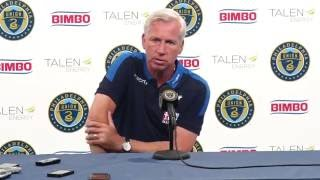Union 0-0 Crystal Palace Press Conference Alan Pardew