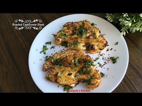 Roasted Cauliflower Steak   Vegetarian   Mumtaz Hasham   Ninja Foodi Grill