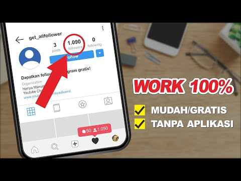 WORK! CARA MENAMBAH FOLLOWERS INSTAGRAM GRATIS