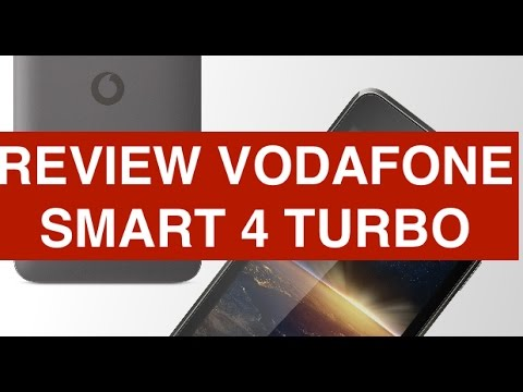 Vodafone Smart 4 Turbo 4G, videorecensione in Italiano