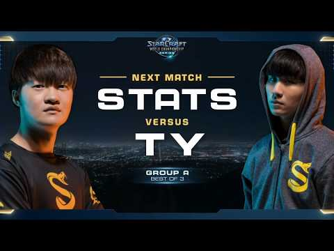 TY vs Stats TvP - Group A Decider - WCS Global Finals 2017 - StarCraft II