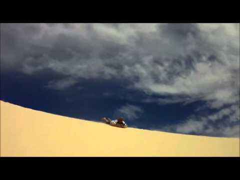 Bucket List Brisbane Moreton Island Sandboarding Part 2