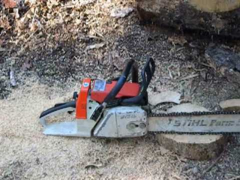 Stihl 026 Chainsaw with 20
