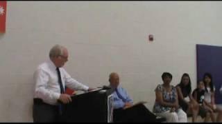 Joseph Blair honored by Gabrielle Giffords