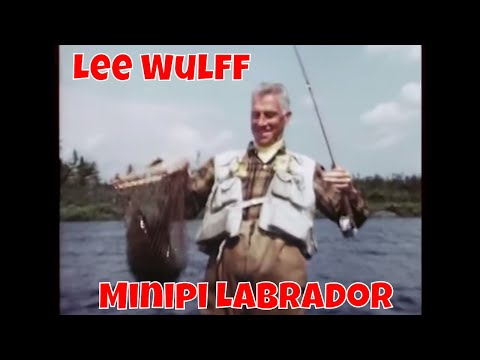 Brook Trout Of Minipi By Lee Wulff   Labrador