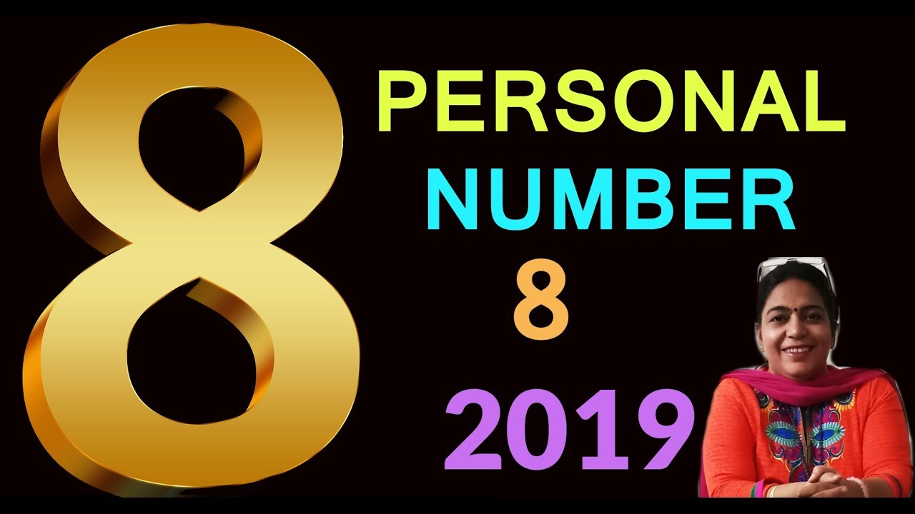 numerology number 8 | Personal Number 8 for 2019 | numerology 2019