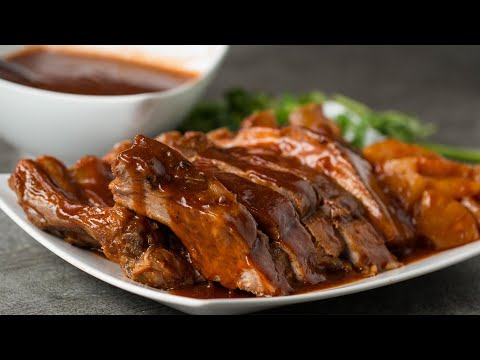 Slow Cooker Pineapple Baby Back Ribs