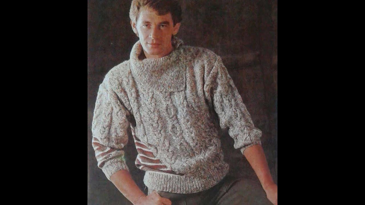 suéter de hombre a la moda también es para ellos - YouTube