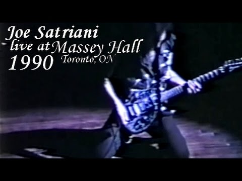 Joe Satriani live at Massey Hall, Toronto, Ontario (1990/04/05) [Full concert]