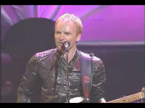 Sting Live With Stevie Wonder(Playing Harmonica) Brand New Day
