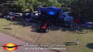 Imágenes con Drone del Predio Fiesta Provincial de la Frambuesa HD