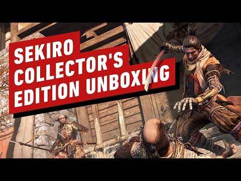 Sekiro: Shadows Die Twice Collector&#;s Edition Unboxing