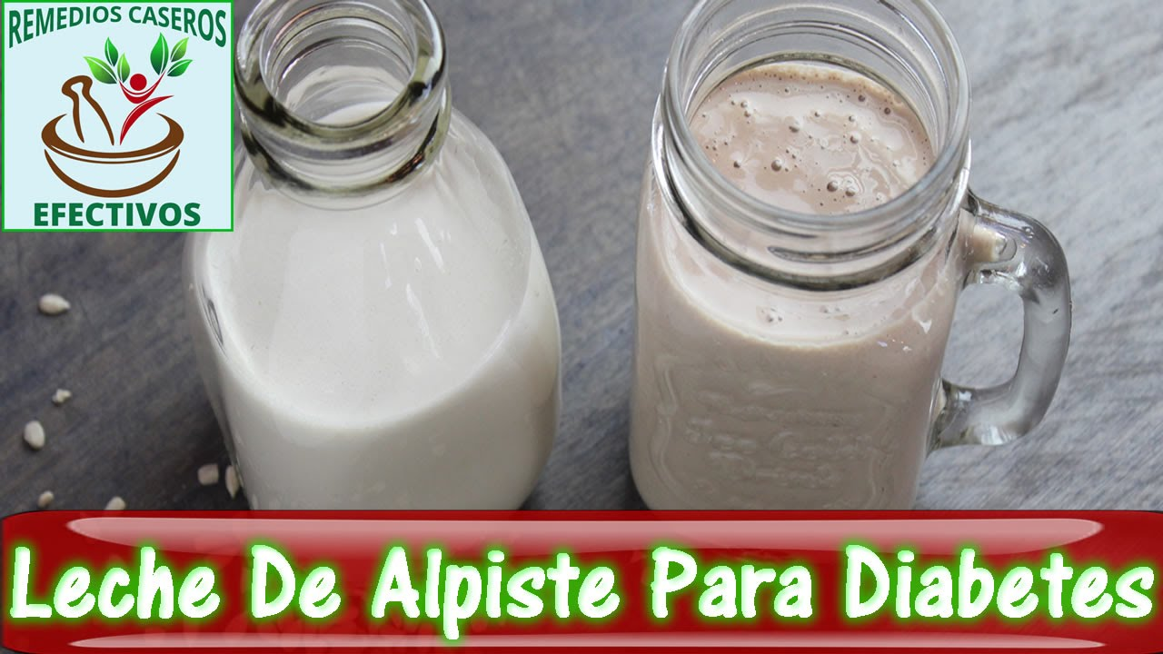 Propiedades Del Alpiste Leche De Alpiste Para La Diabetes Youtube