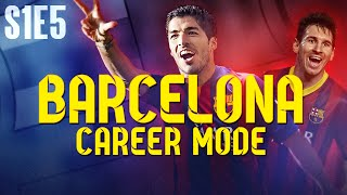 MESSI ON FORM! FIFA 14 Barcelona Career Mode - S1E5