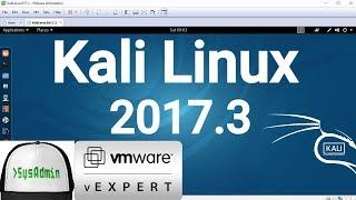 Kali Linux 2017.3 Installation + VMware Tools + Overview on VMware Workstation [2017]