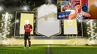 ME SALE ICONO EN MI PRIMER PACK OPENING DE FIFA 21 !!!!!!!!!!!
