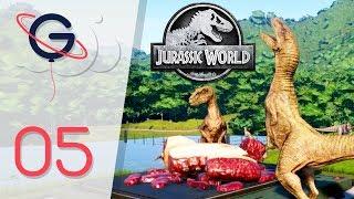 JURASSIC WORLD EVOLUTION FR #5 : Les Vélociraptors + Parc 4 étoiles