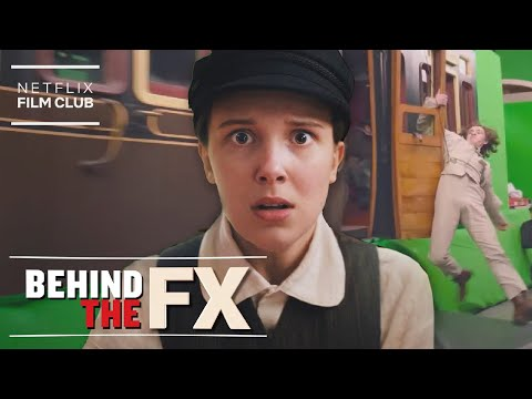 The VFX Behind The Enola Holmes Train Sequence | Behind The FX | Netflix
