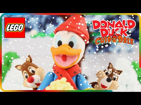♥ LEGO PlayDoh Donald Duck & Chip 'n'...