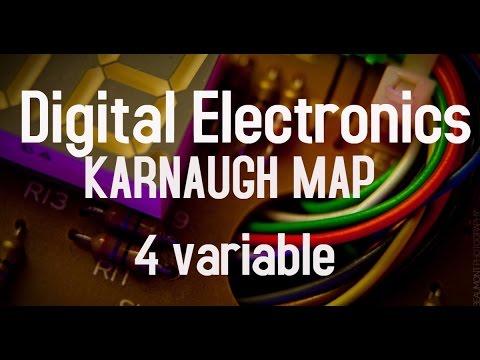 Karnaugh Map (4 variable) bangla