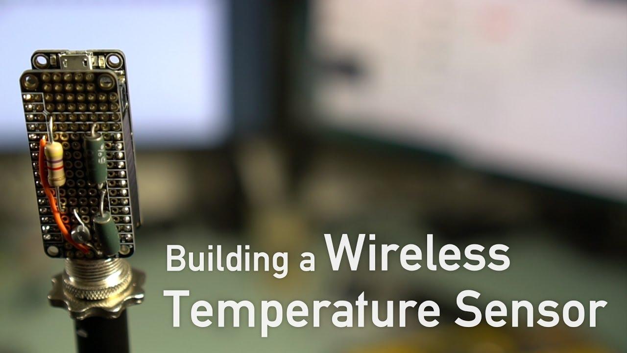 Building a Wireless Temperature Sensor with ESP8266 & Arduino