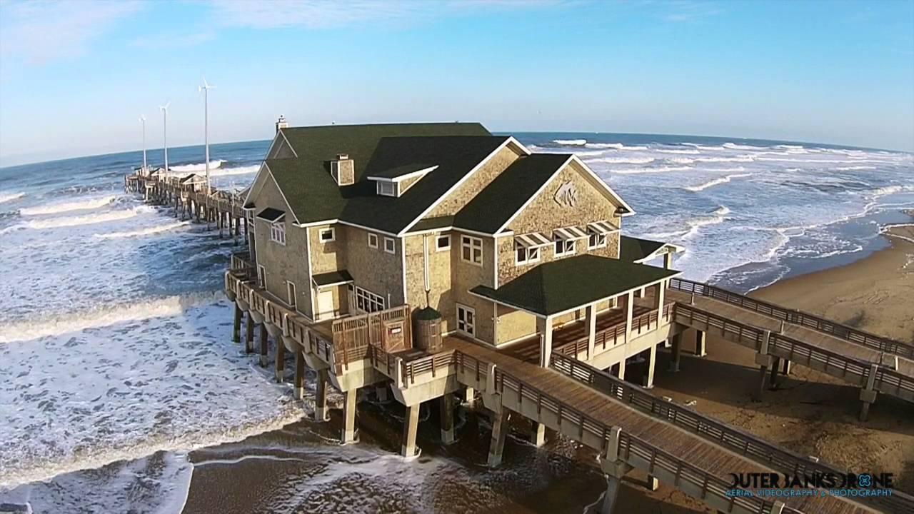 Jennette 39 s pier february 8 2016 youtube for Jennette s fishing pier