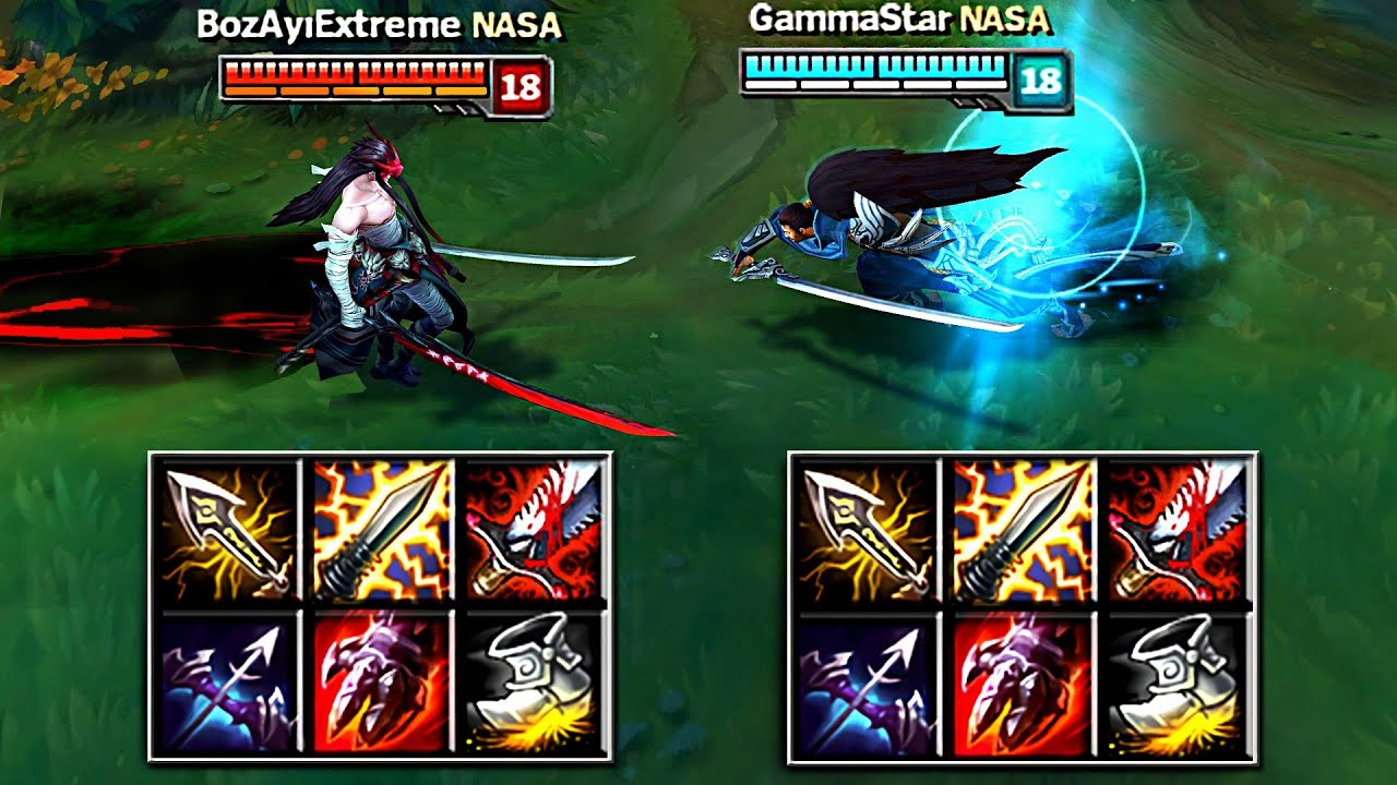 YONE vs YASUO FULL BUILD FIGHTS & Best Moments!