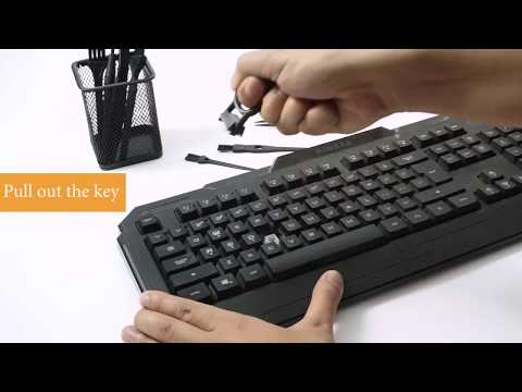 7 in 1 Small PC Laptop Cleaning Keyboard Brush Kit, Black