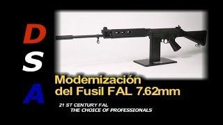 Modernización del Fusil FAL 7.62mm