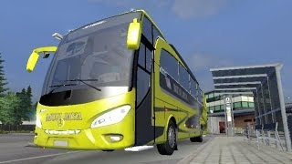 ETS 2 Mod Jetbus Indonesia Edisi Hunting Bis di Terminal (Bus Convoy Parade Compilation) No Ngeblong