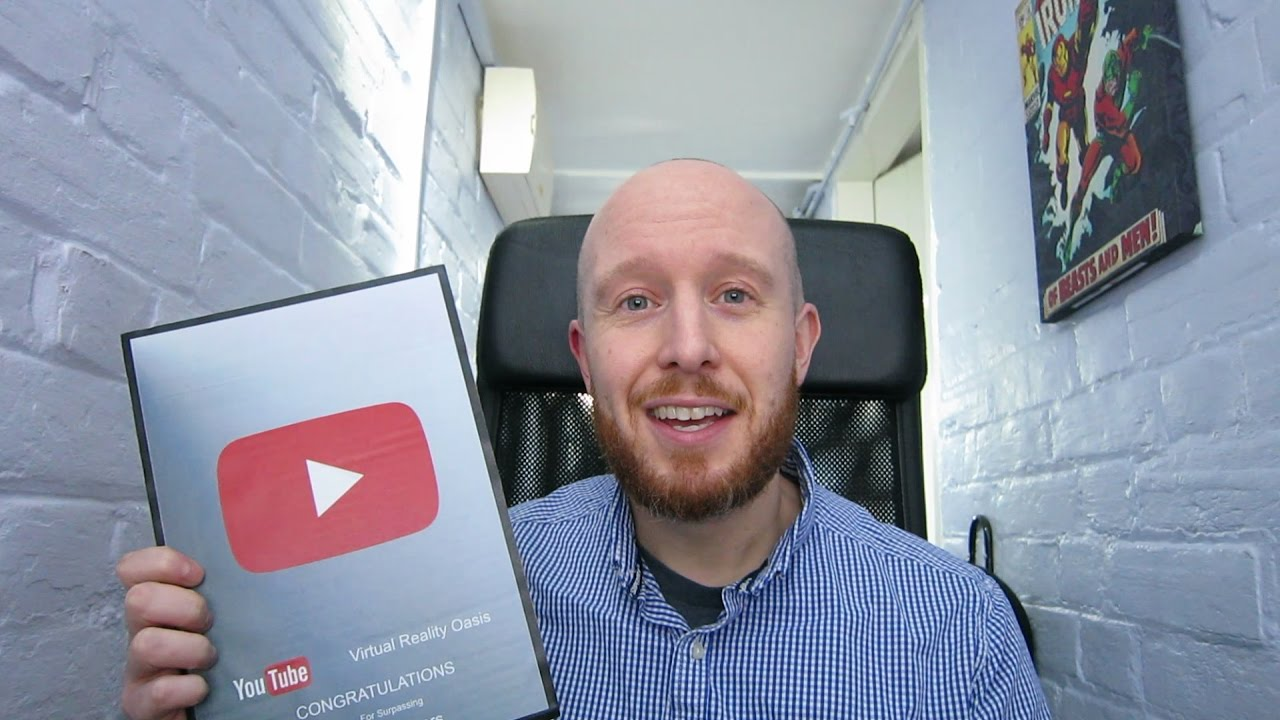 I GOT A CARDBOARD PLAY BUTTON!! Channel Update - Massive Thanks To All