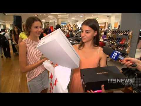 Nine News Sydney: Sydney's Boxing Day Sales Commence (26/12/2014)
