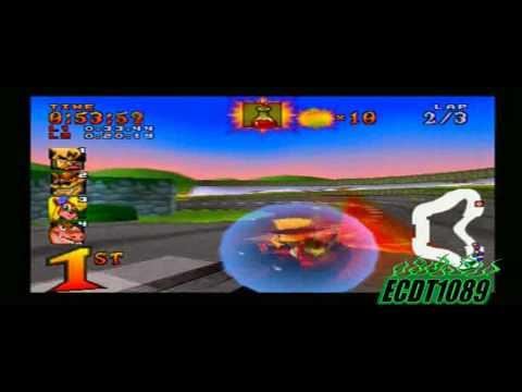 Crash Team Racing [Playthrough] Part 16: Coco Park (Trophy Race)