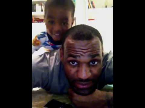 Lebron James & His Little One Bryce !!!!