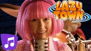 Lazy Town en Español I Bajo De Rock And Roll Karaoke