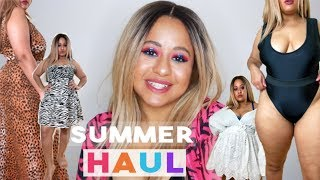 FAT GIRL STYLES *HOLIDAY CLOTHING* HAUL + try on | Siana Westley